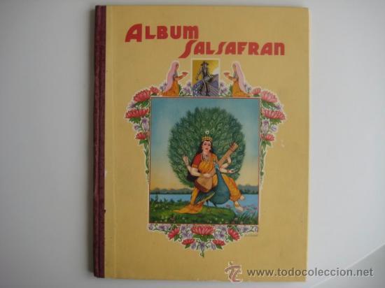 Coleccionismo Álbum: ÁLBUM SALSAFRÁN Nº1.VIUDA DE A.GÓMEZ. 1942,COMPLETO CON 108 CROMOS - Foto 5 - 28723542