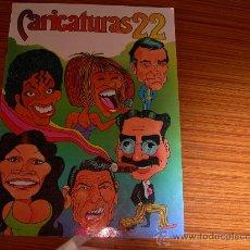 Coleccionismo Álbum: CARICATURAS 22 COMPLETO 210 CROMOS DE CROMOS ROS . Lote 28765154
