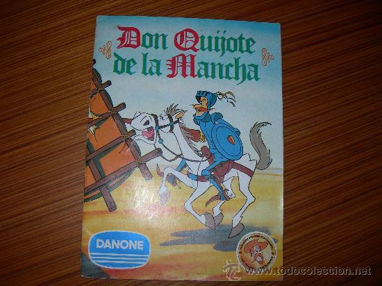 DON QUIJOTE DE LA MANCHA COMPLETO 94 CROMOS DE DANONE (Coleccionismo - Cromos y Álbumes - Álbumes Completos)