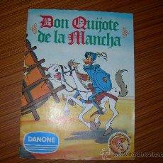 Coleccionismo Álbum: DON QUIJOTE DE LA MANCHA COMPLETO 94 CROMOS DE DANONE . Lote 29070749