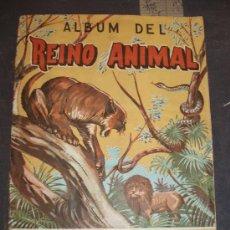 Coleccionismo Álbum: ALBUM REINO ANIMAL,COSTA ,GIGARPE MUY BUEN ESTADO. Lote 29180536