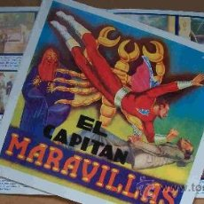 Sammeln Sammelalbum - Album (El Capitan Maravillas) (Reeditado) Cromos Impresos - 29251835