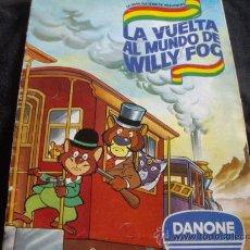 Coleccionismo Álbum: LA VUELTA AL MUNDO DE WILLY FOG-DANONE-COMPLETO. Lote 29265452