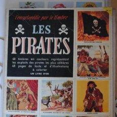 Coleccionismo Álbum: ALBUM DE PIRATAS. LES PIRATES EDITORIAL COCORICO 1956 EN FRANCÉS . Lote 29549767