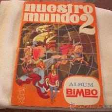 Coleccionismo Álbum: ALBUM COMPLETO NUESTRO MUNDO 2, ALBUM BIMBO. Lote 97611103
