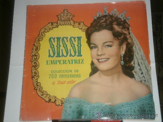 ALBUM CROMOS COMPLETO SISSI EMPERATRIZ (Coleccionismo - Cromos y Álbumes - Álbumes Completos)