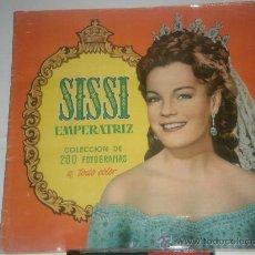 Coleccionismo Álbum: ALBUM CROMOS COMPLETO SISSI EMPERATRIZ. Lote 29693733