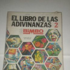 Coleccionismo Álbum: ALBUM CROMOS COMPLETO EL LIBRO DE LAS ADIVINANZAS 2 DE BIMBO. Lote 29694283