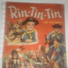 Coleccionismo Álbum: ALBUM CROMOS COMPLETO RIN-TIN-TIN. Lote 29695764