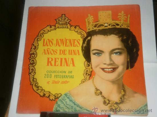 ALBUM COMPLETO DE LOS JOVENES AÑOS DE UNA REINA (Coleccionismo - Cromos y Álbumes - Álbumes Completos)