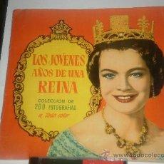 Coleccionismo Álbum: ALBUM COMPLETO DE LOS JOVENES AÑOS DE UNA REINA . Lote 29700926