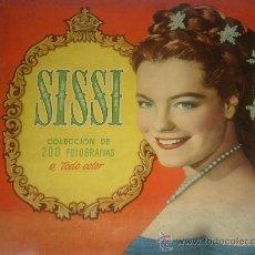 Coleccionismo Álbum: ALBUM COMPLETO SISSI. Lote 29700942