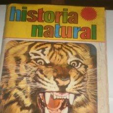 Coleccionismo Álbum: ALBUM COMPLETO HISTORIA NATURAL. Lote 29701485