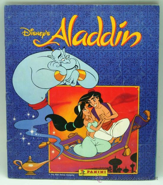 ALADDIN DISNEY ÁLBUM PANINI COMPLETO PELÍCULA WALT DISNEY (Coleccionismo - Cromos y Álbumes - Álbumes Completos)