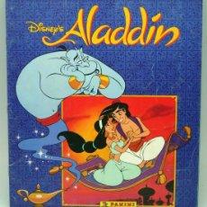 Coleccionismo Álbum: ALADDIN DISNEY ÁLBUM PANINI COMPLETO PELÍCULA WALT DISNEY. Lote 94111762