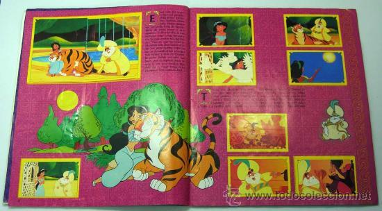 Coleccionismo Álbum: Aladdin Disney álbum Panini completo película Walt Disney - Foto 4 - 94111762