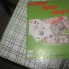 Coleccionismo Álbum: OLIMPIC MOTOR MONEY FALTAN 21 DE 44.. Lote 29787755