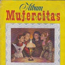 Coleccionismo Álbum: ALBUM COMPLETO MUJERCITAS EDICIONES CLIPER . Lote 29984379