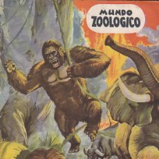Coleccionismo Álbum: ALBUM COMPLETO MUNDO ZOOLOGICO. Lote 29984424