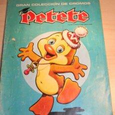 Coleccionismo Álbum: GRAN COLECCION DE CROMOS PETETE. COMPLETO. EDITA EDITORIAL P.T.T. Lote 30075017