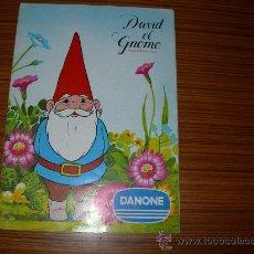 Coleccionismo Álbum: DAVID EL GNOMO COMPLETO DE DANONE . Lote 30096177