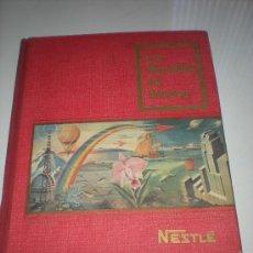 Coleccionismo Álbum: ALBUM NETSLE LAS MARAVILLAS DEL UNIVERSO ENERO-1956. Lote 30176377