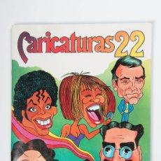 Coleccionismo Álbum: ALBUM CARICATURAS 22, CROMOS ROS, S.A., BARCELONA, AÑO 1987 - COMPLETO. Lote 30353688