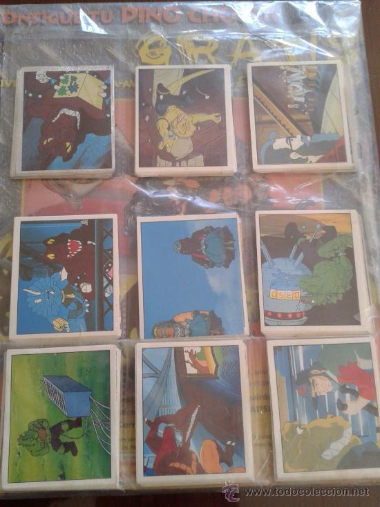Coleccionismo Álbum: EXTREME DINOSAURS ALBUM NUEVO Y COMPLETO CROMOS NUEVOS SIN PEGAR - Foto 2 - 30420271