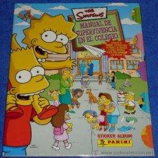 Collectable Albums - The Simpsons - Manual de supervivencia en el colegio - PANINI ¡Completo e impecable! - 30516293