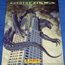 Coleccionismo Álbum: GODZILLA -PANINI ¡COMPLETO E IMPECABLE!. Lote 30527825