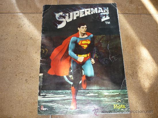 SUPERMAN II EDIT. FHER 1980 ÁLBUM COMPLETO (Coleccionismo - Cromos y Álbumes - Álbumes Completos)