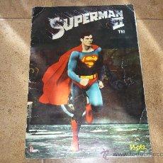 Coleccionismo Álbum: SUPERMAN II EDIT. FHER 1980 ÁLBUM COMPLETO. Lote 30583869