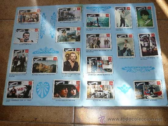 Coleccionismo Álbum: SUPERMAN II Edit. FHER 1980 Álbum completo - Foto 4 - 30583869
