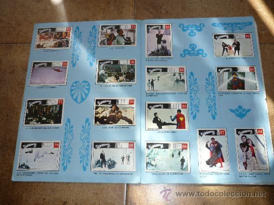 Coleccionismo Álbum: SUPERMAN II Edit. FHER 1980 Álbum completo - Foto 5 - 30583869