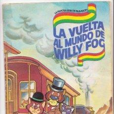 Coleccionismo Álbum: LA VUELTA AL MUNDO DE WILLY FOG COMPLETO DANONE. Lote 30586193