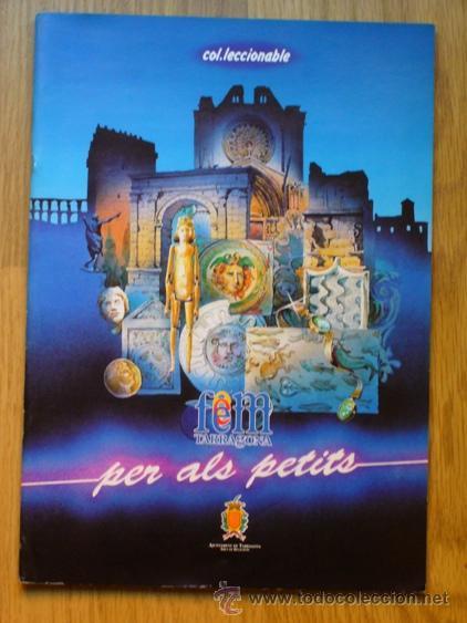 ALBUM DE CROMOS - FEM TARRAGONA PER ALS PETITS - COMPLETO DE 144 CROMOS - AÑO 1990 (Coleccionismo - Cromos y Álbumes - Álbumes Completos)