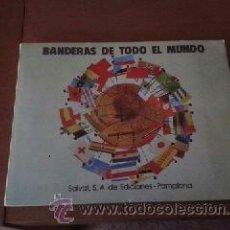 Coleccionismo Álbum: BANDERAS DE TODO EL MUNDO, ALBUM COMPLETO DE LA EDITORIAL SALVAT.. Lote 30661982