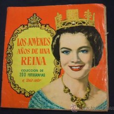 Coleccionismo Álbum: ALBUM COMPLETO - LOS JOVENES AÑOS DE UNA REINA - EDITORIAL BRUGUERA - . Lote 30705200