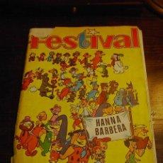 Coleccionismo Álbum: FESTIVAL.ALBUM, HANNA BARBERA, ED. FHER, 1971, INCOMPLETO. Lote 30727008