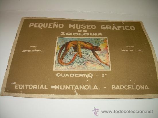 PEQUEÑO ALBUM... COMPLETO.....MUSEO GRAFICO.....EDIT.MUNTAÑOLA. (Coleccionismo - Cromos y Álbumes - Álbumes Completos)