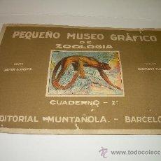Coleccionismo Álbum: PEQUEÑO ALBUM... COMPLETO.....MUSEO GRAFICO.....EDIT.MUNTAÑOLA.. Lote 30732360