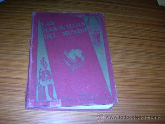 LAS MARAVILLAS DEL MUNDO DE NESTLE COMPLETO 480 CROMOS (Coleccionismo - Cromos y Álbumes - Álbumes Completos)