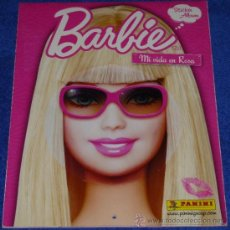 Coleccionismo Álbum: BARBIE - MI VIDA EN ROSA - PANINI. Lote 31243988