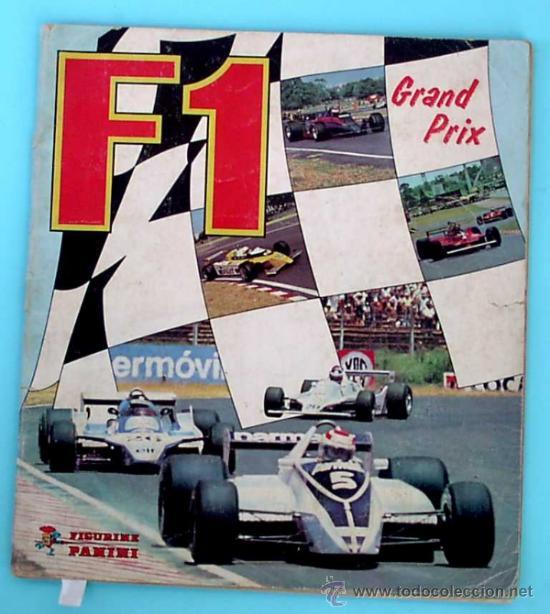 ÁLBUM COMPLETO. F1 GRAND PRIX. FIGURINE PANINI, 1980. (Coleccionismo - Cromos y Álbumes - Álbumes Completos)