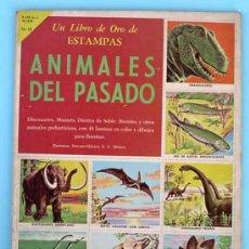 Coleccionismo Álbum: ÁLBUM COMPLETO. ANIMALES DEL PASADO. Nº 18. EDITORIAL NOVARO, 1958.. Lote 30900893