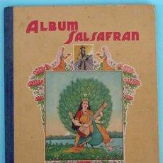 Coleccionismo Álbum: ALBUM COMPLETO ALBUM SALSAFRAN. EDITADO POR VDA. DE A. GOMEZ TEJEDOR. NOVELDA, ALICANTE, 1942.. Lote 30980073