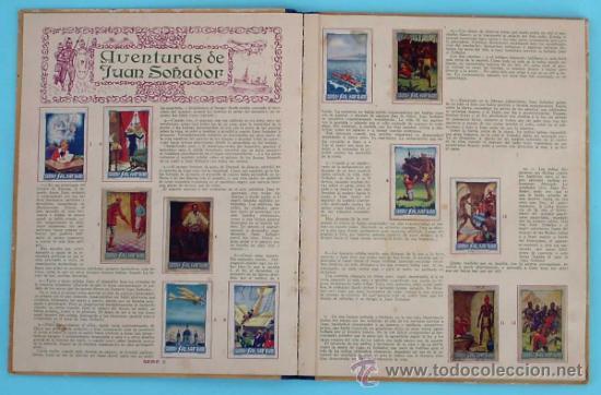 Coleccionismo Álbum: ALBUM COMPLETO ALBUM SALSAFRAN. EDITADO POR VDA. DE A. GOMEZ TEJEDOR. NOVELDA, ALICANTE, 1942. - Foto 2 - 30980073
