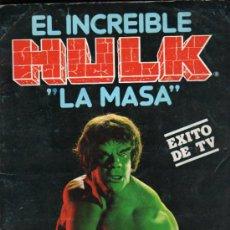 Coleccionismo Álbum: ALBUM DEL INCREIBLE HULK 'LA MASA'. EDITORIAL FHER. . Lote 31043945