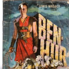 Coleccionismo Álbum: ÁLBUM COMPLETO LEWIS WALLACE, BEN HUR, 216 FOTOGRAMAS A TODO COLOR. Lote 31078501