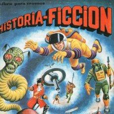 Coleccionismo Álbum: ÁLBUM HISTORIA-FICCIÓN EDITORIAL MAGA - COMPLETO - AÑO 1980. . Lote 31089256